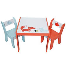 play table and chairs labebe wooden activity table white fox child table and chair for 1