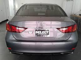 lexus gs rear bumper 2014 lexus gs 350 city virginia select automotive va