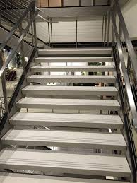 Stair Tread by Self Supporting Flat Stair Treads Terrazzco Brand Products