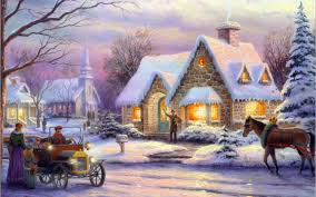 paintings wallpaper kinkade wallpaper memories