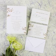 cherry blossom wedding invitations online beautiful cherry blossom wedding invitations ewi098