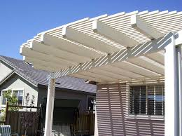 Lattice Awning Photos Soltech Patio Covers