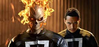 designing ghost rider u0027s costume for agents of shield