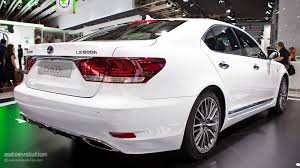 lexus sedan models 2012 paris 2012 lexus ls600h live photos autoevolution