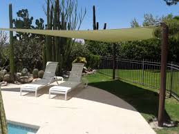 Landscaping Around Pools by Outdoor U0026 Landscaping Incredible Awning Canvas White Relaxing Sun