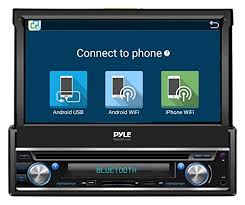 connect android to car stereo usb pyle single din in dash android car stereo unit w