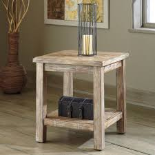 Rustic End Tables Belham Living Brinfield Rustic Solid Wood End Table Hayneedle