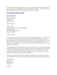 nursing cover letter examples sample cover letter job application