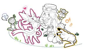 pokemon xy coloring pages coloring pokemon xy coloring pages