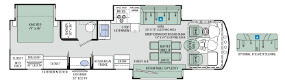 class a rv floor plans motorhome floor plans home design ideas and pictures