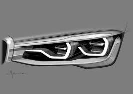 bmw i8 headlights 2016 bmw x1 headlight design sketch sketches digital