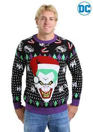 santa sweater joker santa sweater