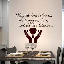 Dining Room Wall Quotes by Compare Prices On Wall Sticker Bless This Home Online Shopping