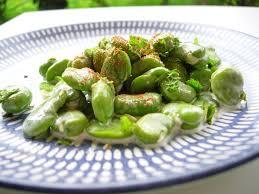 comment cuisiner les feves surgel s fèves sautées à la crème cuisine et dépendances