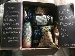one year anniversary gift ideas for 17 best ideas about anniversary boyfriend on