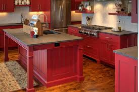 pictures of red kitchen cabinets barn red kitchen cabinets rapflava