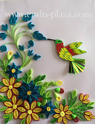 quilled designs can be framed or used to embellish greeting cards
