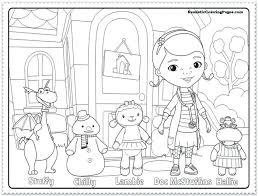 doc mcstuffins coloring pages doctor coloring pages doc playroom