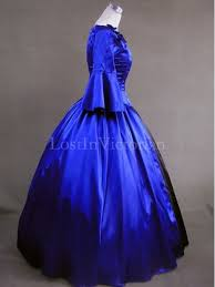 century american colonial period dress ball gown prom reenactment