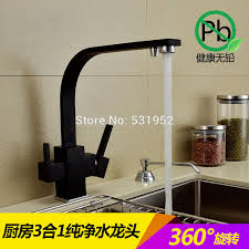 cer kitchen faucet shop deck mounted 100 brass kitchen faucet black