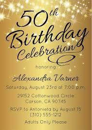 birthday invitation 50th birthday invitation surprise birthday