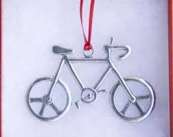 tandem bicycle ornament