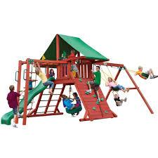 gorilla playsets sun valley ii cedar playset 01 0011 the home depot