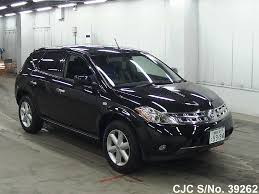 murano nissan black 2006 nissan murano black for sale stock no 39262 japanese