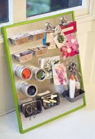 Magnetic Desk Organizer Create This Magnetic Desktop Organizer To Keep Your Desk Area