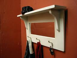 Decorative Coat Hook Shelves Creative Shelves Shelf Organizer Coat Hooks And Shelf