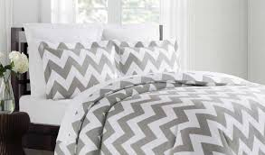 bedding set awesome curious grey and white zig zag crib bedding