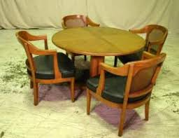 Henredon Dining Room Set by Cost To Ship Vintage Henredon Dining Room Set 4 Cane Back Chair