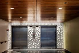 Wood Slat Ceiling System by True Wood Ceiling Panels Wood Veneer Ceiling Panels