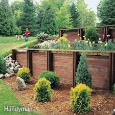 How Much To Level A Backyard Retaining Wall The Family Handyman