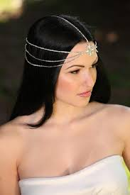 jeweled headbands mara bohemian goddess vintage jeweled headband forehead