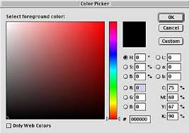 adobe photoshop basics type and color tools