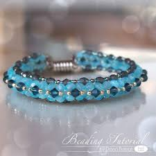 bracelet bead tutorials images Beading tutorial mosaic bracelet triangle weave tutorial jpg