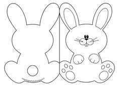 rabbit template printable templates rabbit easter
