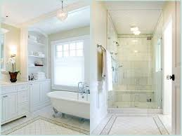 white bathroom decoration using white diagonal tile bathroom
