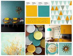 turquoise mustard moodboard design tips u0026 inspiration