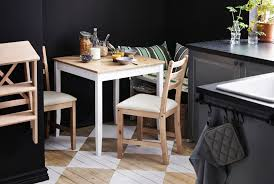 Small Round Kitchen Table For Two by Dinette Sets For Small Spaces Shabby Chic Drop Leaf Dining Table