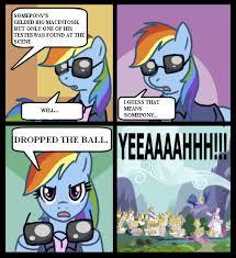 Mlp Rainbow Dash Meme - 277005 comic meme pun rainbow dash semi grimdark suggestive