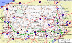 map of pa pennsylvania gold