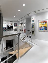 stairs wall decoration ideas staircase modern with gallery wall
