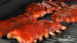 Patio Master Grill by How To Use Bbq Grill To Barbeque Ribs Allrecipes Youtube