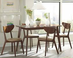 Mid Century Dining Table And Chairs Fashion Your Dining Room In The Mesmerizing Retro Style All
