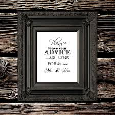 Wedding Card Advice Sale 90 Off Advice And Well Wishes For The New Mr U0026 Mrs 8 X