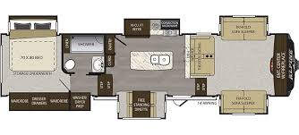 20 Foot Travel Trailer Floor Plans Alpine