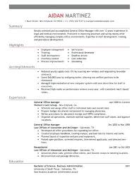 resume senior manager resume templates create my best