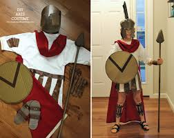 diy ares greek mythology costume inspiration made simple